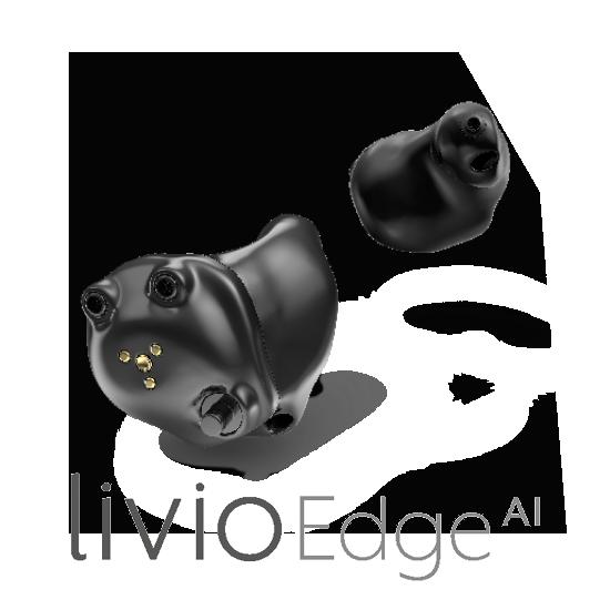 Livio Edge AI intras rechargeables audition salon maitre audio test auditif acouphènes prothèse auditive salon de provence miramas eyguières